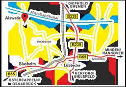 Anfahrt - Autohaus WestfalenGarage