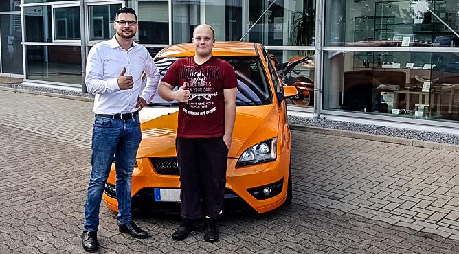 Herr Plaßhenrich - Ford Focus ST - Gebrauchtwagen - Ein glücklicher Kunde!