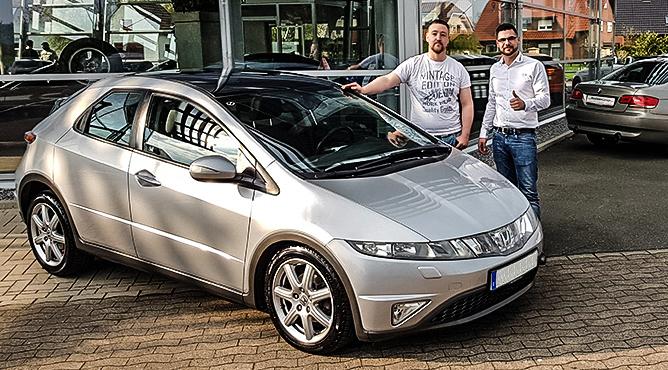 Herr Dießner - Honda Civic - Gebrauchtwagen - Ein glücklicher Kunde!