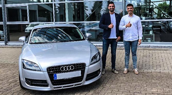 Herr Volkmann - Audi TT - Gebrauchtwagen - Ein zufriedener Kunde!