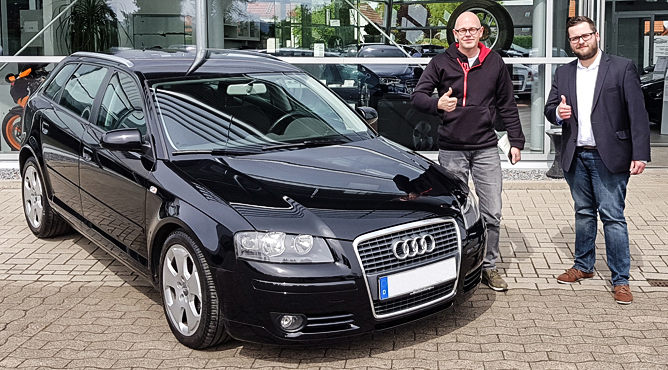 Herr Grabowski - AUDI A3 - Gebrauchtwagen - Ein glücklicher Kunde!