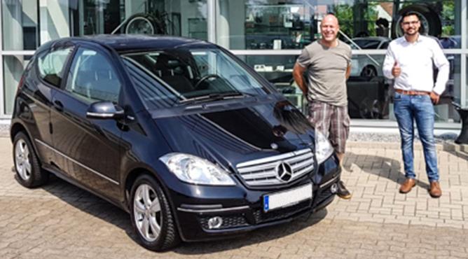 Herr Pohl - Mercedes A160 - Gebrauchtwagen - Ein zufriedener Kunde!