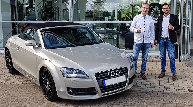Herr Reinisch - AUDI TT - Gebrauchtwagen - Ein glücklicher Kunde!