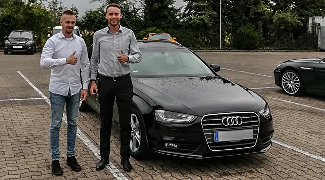 Herr Krömer - Audi A4 - Gebrauchtwagen - Ein zufriedener Kunde!