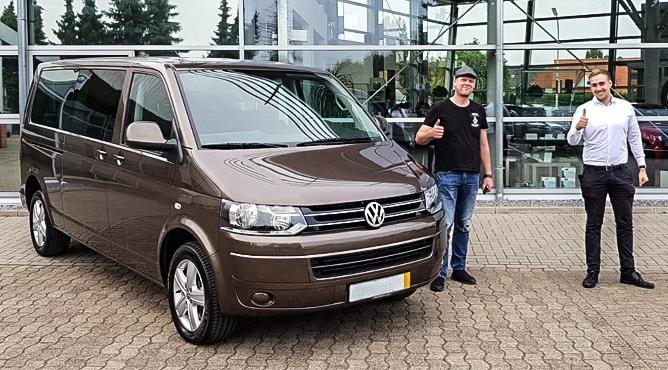 Herr Kleinpaß - VW T5 - Gebrauchtwagen - Ein zufriedener Kunde!