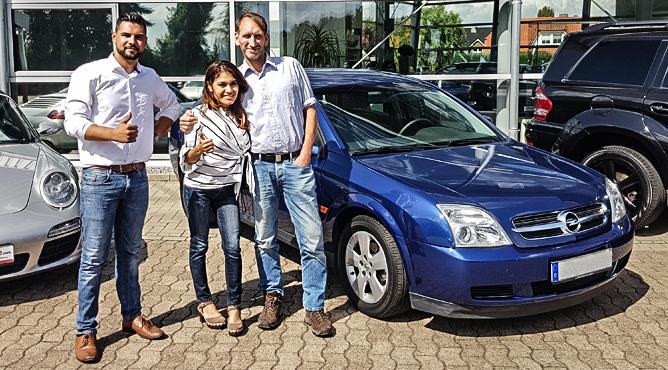Herr Sänger - Opel Vectra - Gebrauchtwagen - Glückliche Kunden!