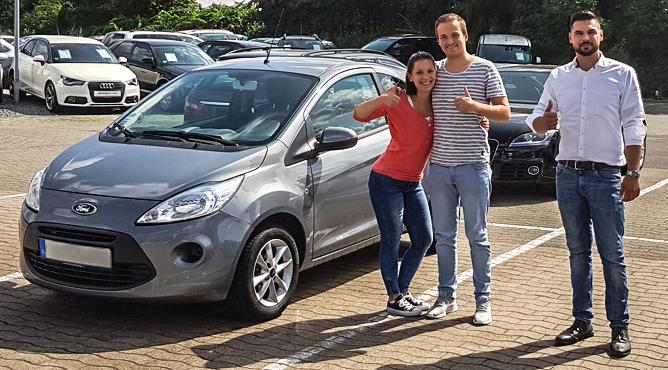 Herr Kimm - Ford Ka - Gebrauchtwagen - Glückliche Kunden!