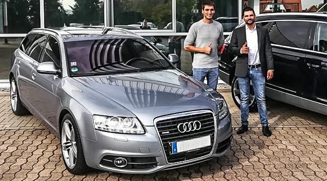 Herr Heller - Audi A6 - Gebrauchtwagen - Ein zufriedener Kunde!
