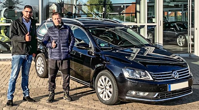 Krzyzstof - VW Passat - Gebrauchtwagen - Ein zufriedener Kunde!