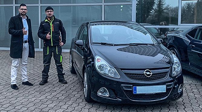 Herr Briele - Opel Corsa OPC - Gebrauchtwagen - Ein zufriedener Kunde!