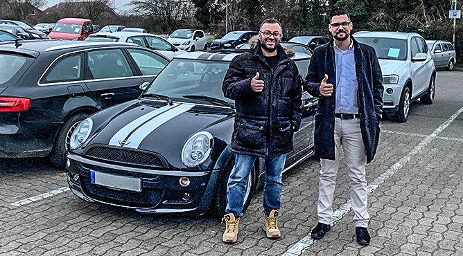 Herr Alis - Mini - Gebrauchtwagen - Ein zufriedener Kunde!