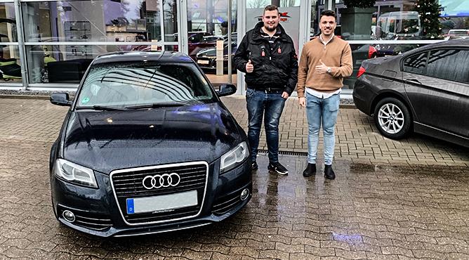 Herr Kloppenbrink - Audi A3 - Gebrauchtwagen - Ein glücklicher Kunde!