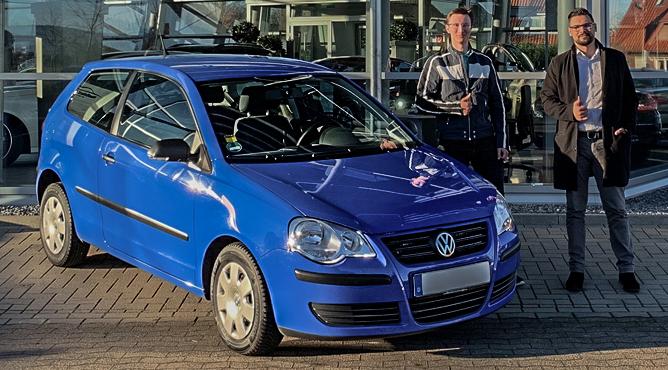 Herr Schmidt - VW Polo - Gebrauchtwagen - Ein zufriedener Kunde!