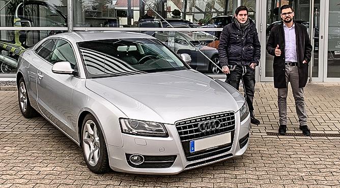 Herr Kampf - Audi A5 - Gebrauchtwagen - Ein glücklicher Kunde!