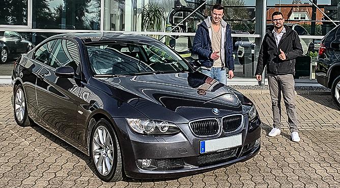 Herr Bernard - BMW 320i Coupé - Gebrauchtwagen - Ein glücklicher Kunde!