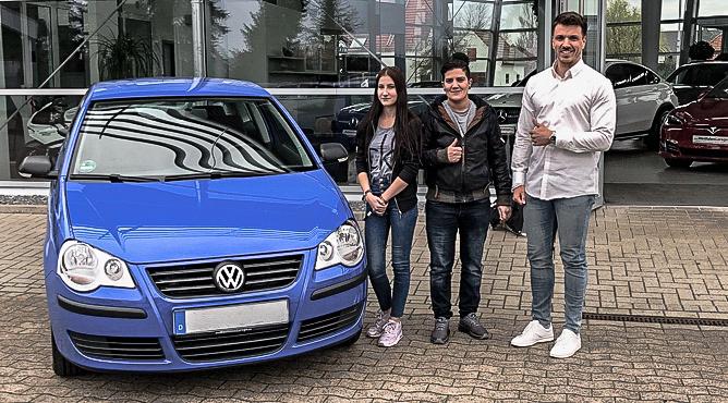 Frau Humkamp - VW Polo - Gebrauchtwagen - Eine zufriedene Kundin!