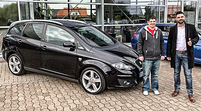 Herr Klaukien - Seat Altea XL - Gebrauchtwagen - Ein zufriedener Kunde!