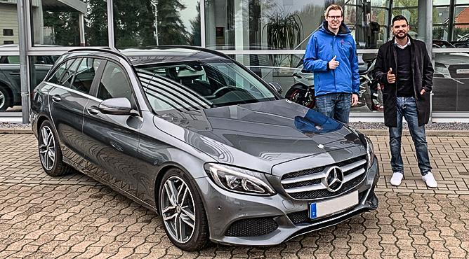 Herr Selke - Mercedes-Benz C250 - Gebrauchtwagen - Ein zufriedener Kunde!