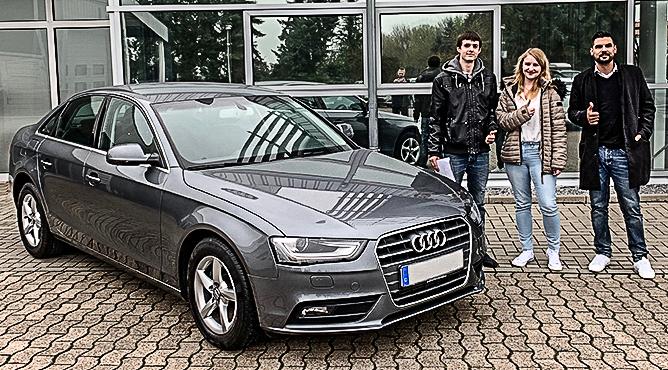 Frau Konrad - Audi A4 - Gebrauchtwagen - Eine zufriedene Kundin!