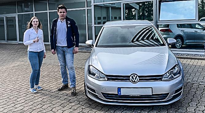 VW Golf - Gebrauchtwagen - Herr Kolkhorst - Ein zufriedener Kunde!