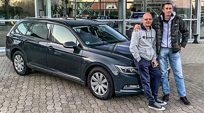 Herr Poznanovic - VW Passat - Gebrauchtwagen - Ein glücklicher Kunde!