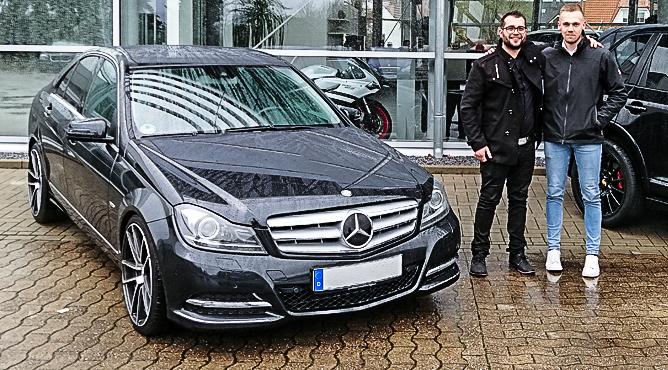 Mercedes-Benz C 350 - Gebrauchtwagen - Herr Lumia - Ein glücklicher Kunde!