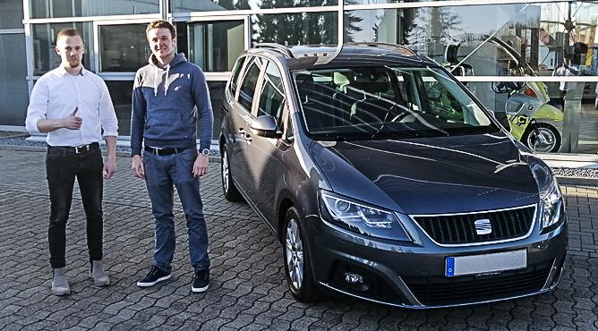 Seat Alhambra - Gebrauchtwagen - Herr Bicknese - Ein zufriedener Kunde!