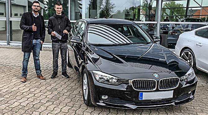 BMW 320d - Gebrauchtwagen - Herr Globoderi - Ein zufriedener Kunde!