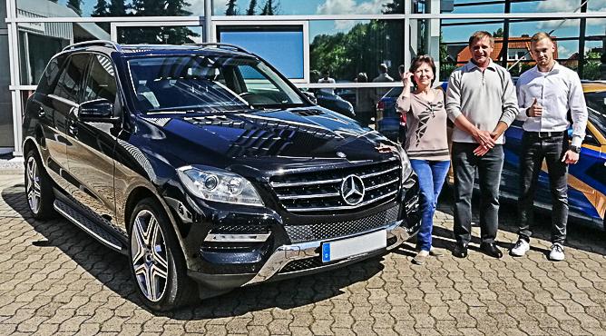 Mercedes-Benz ML 350 - Gebrauchtwagen - Herr und Frau Gelbert - Zufriedene Kunden!