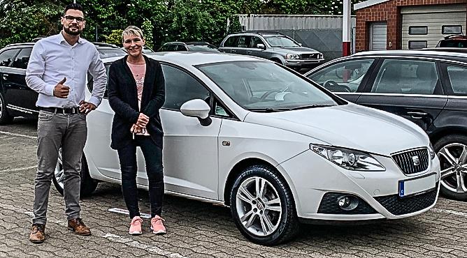 Seat Ibiza - Gebrauchtwagen - Frau Möller - Eine zufriedene Kundin!