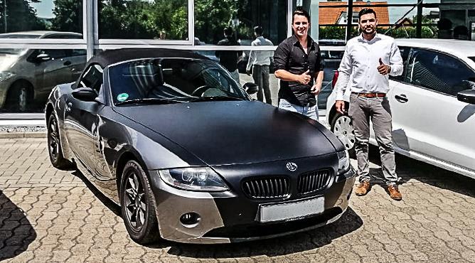 BMW Z4 - Gebrauchtwagen - Herr Buismann - Ein zufriedener Kunde!
