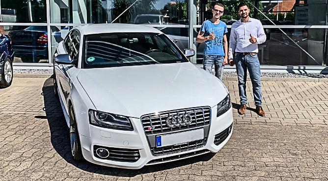 Audi S5 - Gebrauchtwagen - Herr Maar - Ein glücklicher Kunde!
