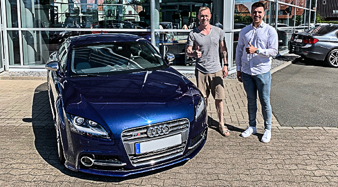 Audi TTS - Gebrauchtwagen - Herr Rybak - Ein zufriedener Kunde!