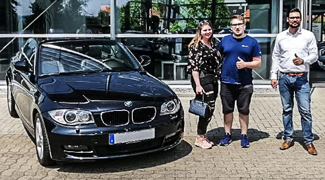 BMW 125 Cabrio - Gebrauchtwagen - Herr Knappwert - Ein glücklicher Kunde!