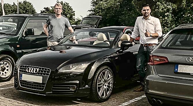 Audi TT Roadster - Gebrauchtwagen - Herr Siemann - Ein zufriedener Kunde!