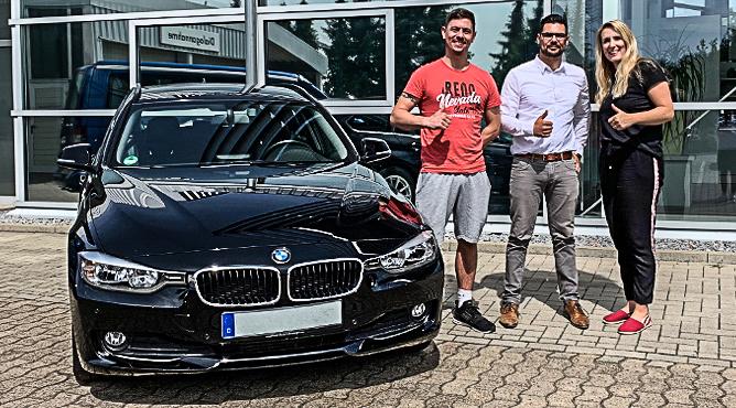 BMW 318d - Gebrauchtwagen - Herr Waite - Ein zufriedener Kunde!