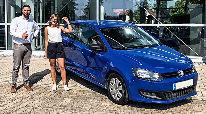 VW Polo - Gebrauchtwagen - Frau Niermeyer - Eine glückliche Kundin!