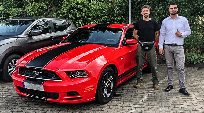 Ford Mustang - Gebrauchtwagen - Herr Rabe - Ein zufriedener Kunde!