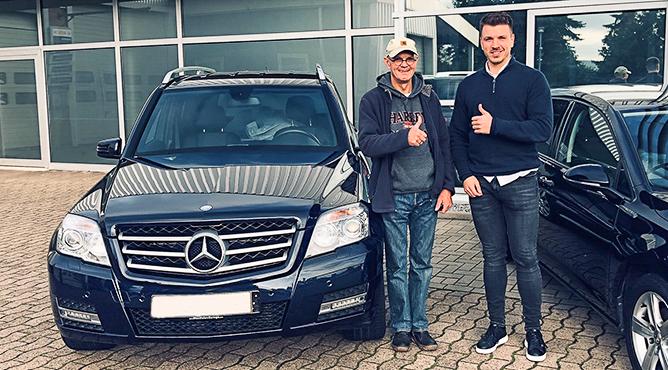 Mercedes-Benz GLK 220 - Gebrauchtwagen - Herr Cesler - Ein zufriedener Kunde!