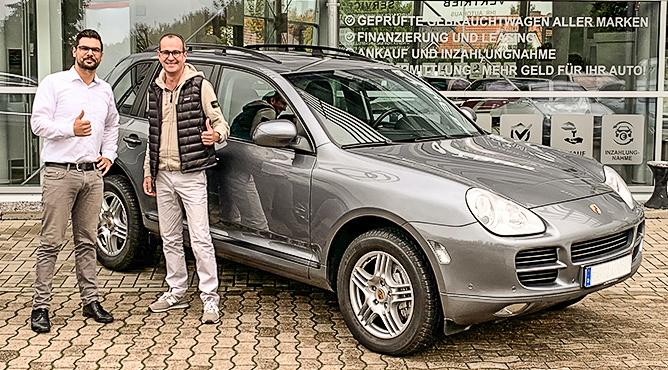 Porsche Cayenne - Gebrauchtwagen - Herr Albert - Ein zufriedener Kunde!