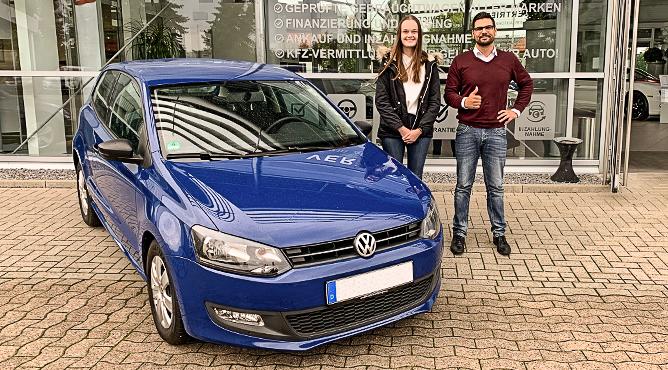 VW Polo - Gebrauchtwagen - Frau Kampeter - Eine zufriedene Kundin!