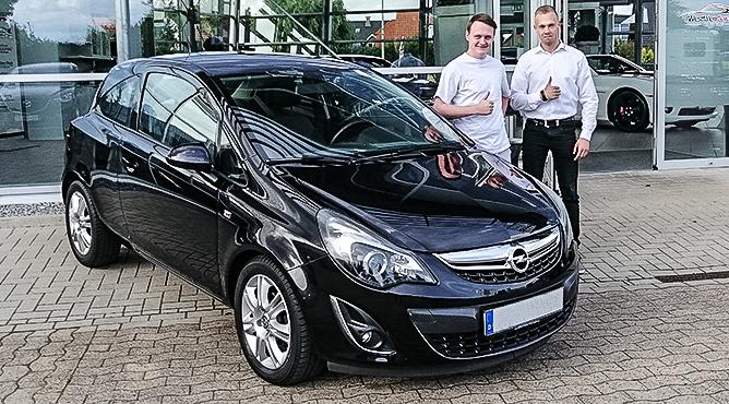 Opel Astra - Gebrauchtwagen - Herr Klanke - Ein zufriedener Kunde!