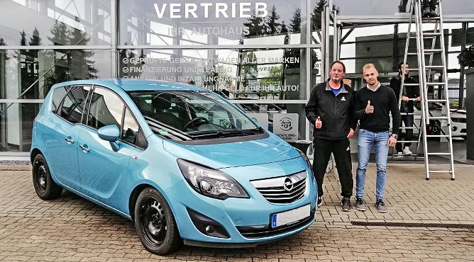 Opel Meriva - Gebrauchtwagen - Herr Sudeck - Ein zufriedener Kunde!
