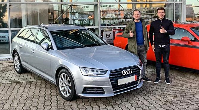 Audi A4 - Gebrauchtwagen - Herr Van Dorst - Ein zufriedener Kunde!
