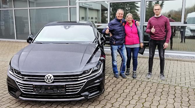 VW Arteon - Gebrauchtwagen - Frau und Herr Klautzsch - Glückliche Kunden!