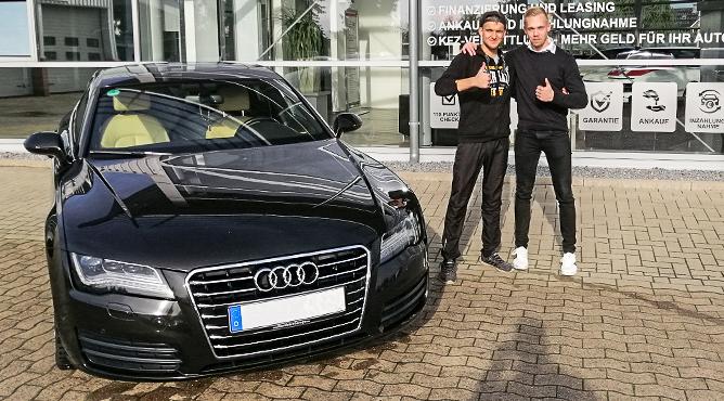 Audi A7 - Gebrauchtwagen - Herr Korsaks - Ein zufriedener Kunde!