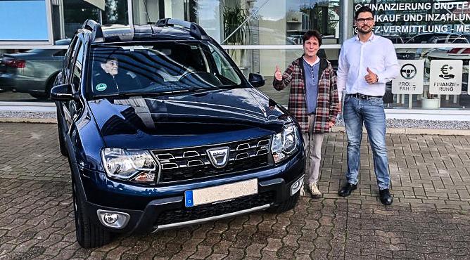 Dacia Duster - Gebrauchtwagen - Frau Kunze - Eine zufriedene Kundin!