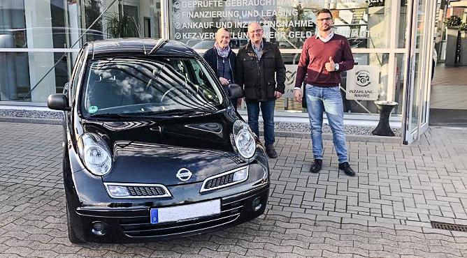 Nissan Micra - Gebrauchtwagen - Frau und Herr Kran - Zufriedene Kunden!