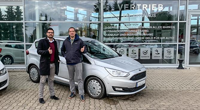 Ford C-MAX - Gebrauchtwagen - Herr Wulf - Ein zufriedener Kunde!