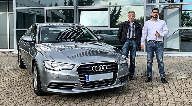 Audi A6 - Gebrauchtwagen - Herr Rösener - Ein zufriedener Kunde!